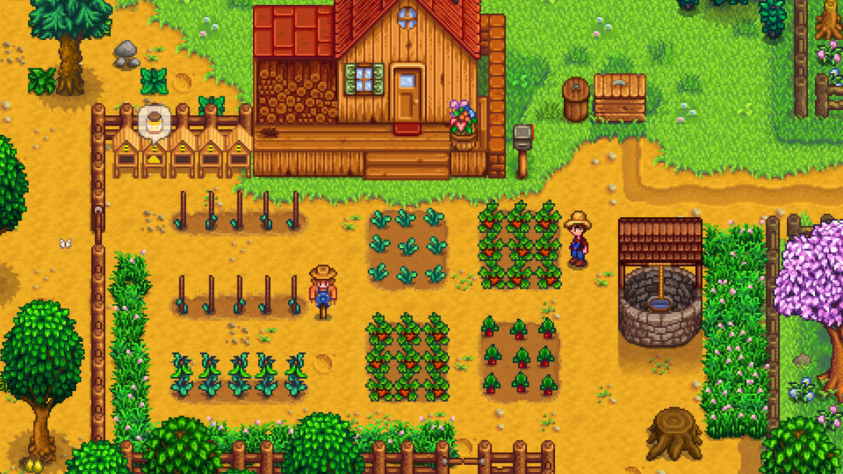 Stardew Valley : Game Pixel Bergaya Harvest Moon